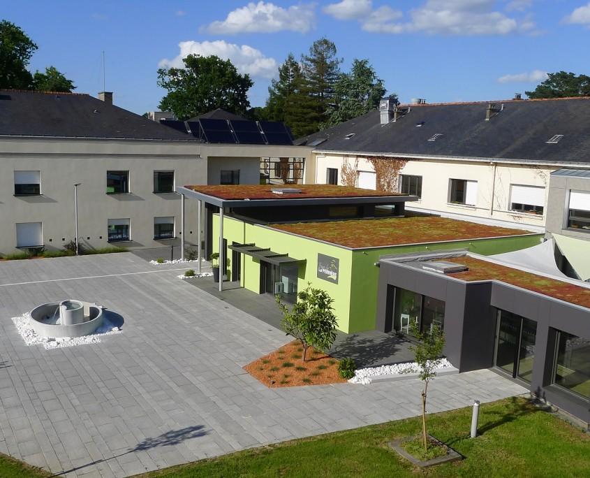 Plan Bleu Foyer Logement : Accueil maison de retraite heric